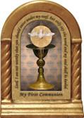 Chalice with Holy Spirit Desk Shrine