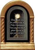 Eucharist Detail Prayer Desk Shrine