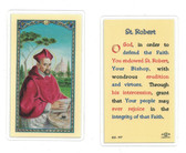 Laminated Prayer Card St. Robert