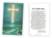My Lord God Laminated Prayer Card