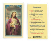 Friendship Laminiated Prayer Card