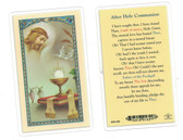 After Holy Communion Laminated Prayer Card