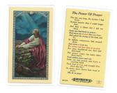 The Power Of Prayer Laminated Prayer Card