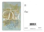 So Thankful For You Dad Prayer & Greeting Card