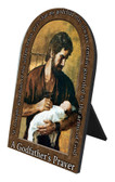 A Godfather's Prayer Arched Desk Plaque