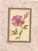 Pink vintage card