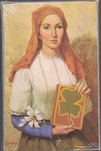 Prayer In Honor Of St. Dymphna Prayer Card