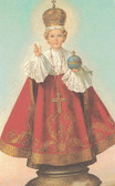 The Infant Of Prague Wallet Size Card