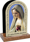 Our Lady of Fatima Prayer Table Organizer (Vertical)