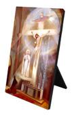 The Last Vision of Fatima Vertical Desk Plaque