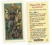 Our Lady Of Czestochowa Prayer Card