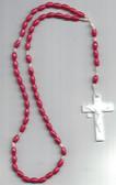 Dark Pink Rosary