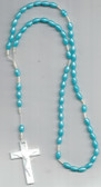 Light Blue Rosary