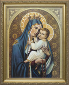 Our Lady of Mt. Carmel Framed Art