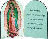Our Lady of Guadalupe Arched Diptych