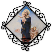 Our Lady of the Angels Votive Candle Holder
