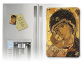 Our Lady of Vladimir Detail Magnet