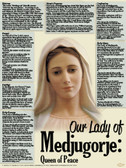Our Lady of Medjugorje Explained Poster