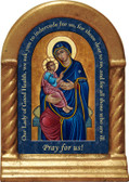 Our Lady of Good Health Prayer Desk Shrine