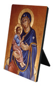 Our Lady of Good Health Vertical Desk Plaque