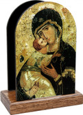 Our Lady of Vladimir Table Organizer (Vertical)