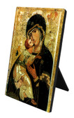 Our Lady of Vladimir Vertical Desk Plaque
