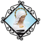 Our Lady of Good Help Votive Candle Holder