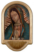 Our Lady of Guadalupe Detail Holy Water Font
