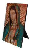 Our Lady of Guadalupe Detail Vertical Desk Plaque