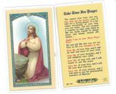 Take Time For Prayer Laminated Prayer Card