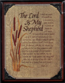 The Lord Is My Shepherd Wall Plaque