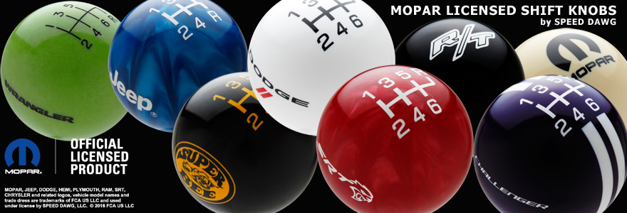 Shift Knobs Available With V Momentary Switch
