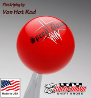 Red Pinstripe Speed Dawg Shift Knob
