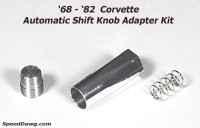 C3 Corvette Automatic Shifter Adapter Kit
