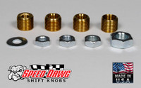 Standard Thread Shift Knob Adapter Kit - 4 Sizes