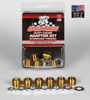 Standard Thread Shift Knob Adapter Kit - 6 Sizes