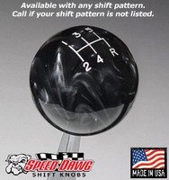Black Pearl Shift Knob with Engraved Shift Pattern