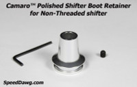 Camaro™ Polished Shifter Boot Retainer 2010-12