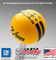 '69 Z/28 Rally Stripe Shift Knob