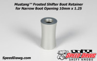 Mustang™ Shelby GT500 Frosted Shifter Boot Retainer 2010 & Newer 10mm x 1.25