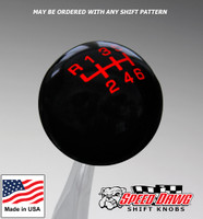 Black / Red Pro Series Shift Knob