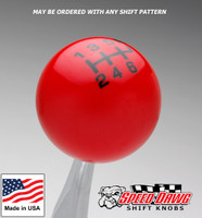 Red / Black Pro Series Shift Knob