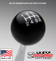 Black / White Pro Series Shift Knob