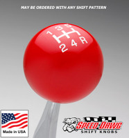 Red / White Pro Series Shift Knob