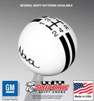Nova Rally Stripe Shift Knob