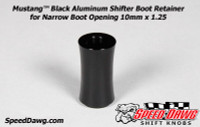 Mustang™ Shelby GT500 Black Shifter Boot Retainer 2010 & Newer 10mm x 1.25