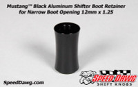 Mustang™ Boss 302 & 401A Black Shifter Boot Retainer 12mm x 1.25