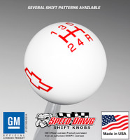 Chevy Bow Tie Shift Knob with Pattern