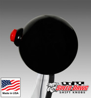 Black Shift Knob with Line Lock / Nitrous Button