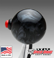 Black Pearl Shift Knob with Line Lock / Nitrous Button